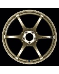 Advan Racing RGIII 18x9.0 +25 5-114.3 Racing Gold Metallic Wheel