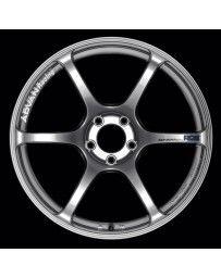 Advan Racing RGIII 19x8.5 +45 5-114.3 Racing Hyper Black Wheel