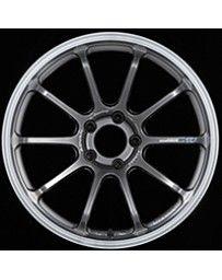Advan Racing RS-DF Progressive 19x10.5 +30 5-114.3 Machining & Racing Hyper Black Wheel
