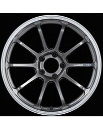 Advan Racing RS-DF Progressive 19x10.0 +22 5-114.3 Machining & Racing Hyper Black Wheel
