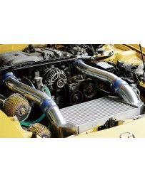 GReddy Full T-19 V-Mount Intercooler Kit Mazda RX-7 FD3S 1993-1995