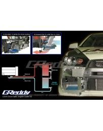 Greddy Circuit Spec Oil Cooler Kit Mitsubishi Evolution X 2008-on