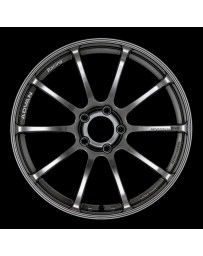 Advan Racing RSII 18x10.0 +25 5-114.3 Racing Hyper Black Wheel
