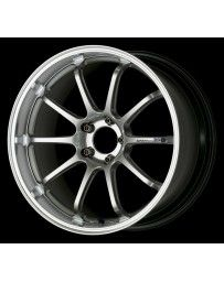 Advan Racing RZ-DF 18x11.0 +60 5-130 Machining & Racing Hyper Silver Wheel
