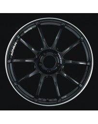 Advan Racing RZII 19x10.0 +25 5-114.3 Racing Gloss Black Wheel