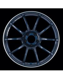 Advan Racing RZII 18x9.5 +50 5-120 Racing Indigo Blue Wheel