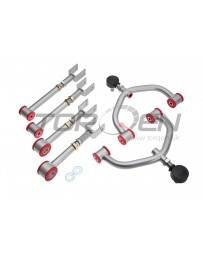 370z Kinetix Racing Front Adjustable Camber Upper Arms, Rear Camber / Traction Package