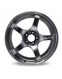 Advan Racing TC4 18x10 +25 5-114.3 Racing Gunmetallic and Ring Wheel