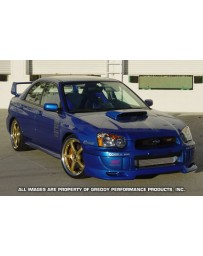 GReddy Gracer Front Lip Spoiler FRP Subaru WRX STI 2002-2005