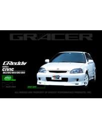 GReddy Gracer Front Lip Spoiler Honda Civic Si 1999-2000