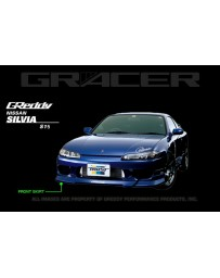 GReddy Front Lip Spoiler Nissan Silvia S15 1999-2002