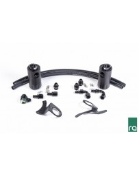 Radium Engineering 2015+ Ford Mustang GT Dual Catch Can Kit