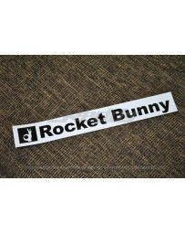 GReddy Rocket Bunny Sticker - White