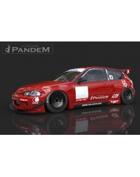 GReddy GReddy Rocket Bunny FRP Full Wide Body Kit Honda Civic EG Hatchback 1992-1995