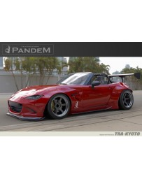 GReddy Rocket Bunny Full Wide Body Kit with GT Wing Mazda Miata MX-5 ND 2016-2017