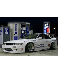 GReddy 89-93 Nissan Silvia 2Dr Full Rocket Bunny (PS13) F,S,R Aero Kit V1