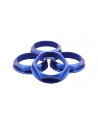 fifteen52 Super Touring (Chicane/Podium) Hex Nut Set of Four - Anodized Blue