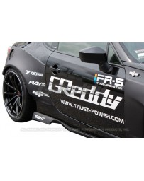 GReddy X Rocket Bunny Version 1 Rear Over Fenders Subaru BRZ / Scion FR-S / Toyota GT-86 2013-2015