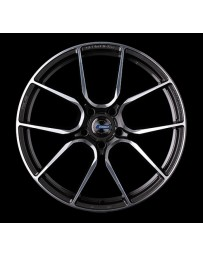 Gram Lights 57ANA 19x9.5 +18 5-114.3 Super Dark Gunmetal DC Machining Wheel