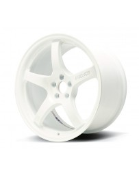 Gram Lights 57CR 18x9.5 +38 5x114.3 Ceramic White Pearl Wheel