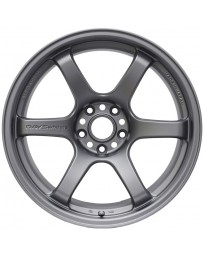 Gram Lights 57DR 15x8.0 +35 4-100 Gunblue Wheel