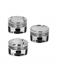 350z DE Manley 81.4mm Stroker 95.75mm +.25mm Bore 8.5:1 Dish Piston Set with Rings