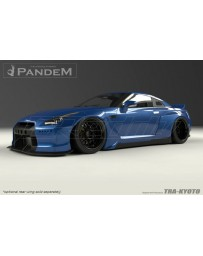 GReddy Pandem Wide-Body Aero Kit w/o Wing Nissan GT-R R35 2009+