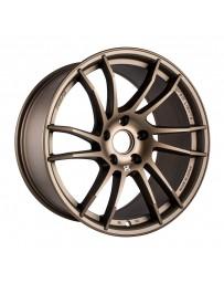 Gram Lights 57XTC 18x9.5 +38 5-114.3 Bronze Wheel