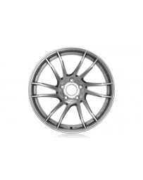 Gram Lights 57XTC 17x7.0 +48 4-100 Shining Silver / Diamond Cut Wheel