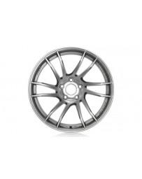 Gram Lights 57XTC 18x9.5 +12 5-114.3 Shining Silver Wheel