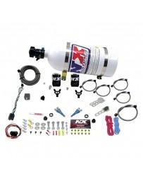 Nitrous Express 03-18 Nissan 350z Z33 370z Z34 Dual Nozzle (35-150HP) w/10lb Bottle