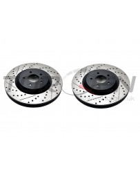 350z StopTech Discs for Brembo brakes - Rear pair - SLOTTED & DRILLED