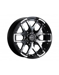 SSR Devide ZS Wheel 17x7.0 5x114.3 40mm Ash Black