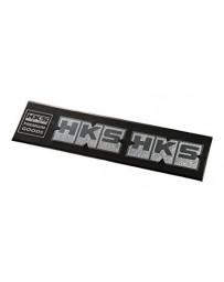 HKS Emboss Sticker 2pcs