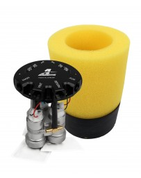 Aeromotive Fuel Pump - Phantom Trifekta Universal In-Tank - 450lph - 6-10in Depth