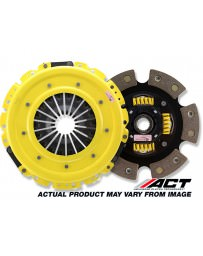 370z ACT Clutch Kit, Heavy Duty Pressure Plate with 6-Pad Race Sprung Disc