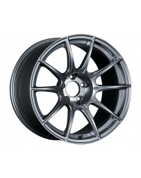 SSR GTX01 Wheel Dark Silver 18x10.5 5x114.3 15mm