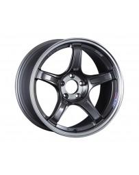 SSR GTX03 Wheel 15x5 4x100 45mm Black Graphite