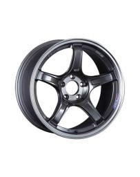 SSR GTX03 Wheel 16x6.5 4x100 53mm Black Graphite