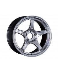 SSR GTX03 Wheel 18x7.5 5x114.3 53mm Platinum Silver