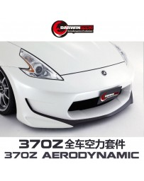 DarwinPRO 370Z Amuse Style Wide Body Kit - Rear Bumper FRP