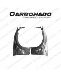 Carbonado BSD Style Carbon Fender For Nissan 370Z Dry Carbon +30%