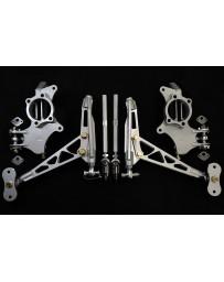 FDF RaceShop RX7 FC GRIP KIT USING 350Z WHEEL BEARING Full Kit FDF Silver