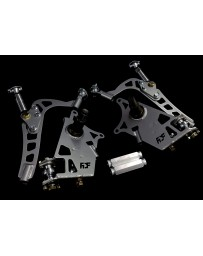 FDF RaceShop FORD MUSTANG SN95 MANTIS ANGLE KIT With Full Knuckle Replacement FDF Silver