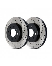 300zx Z32 Stoptech Direct Replacement Rotors - Front Pair, 26mm for 90 Non-Turbo Models Only Drilled