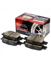 300zx Z32 Centric Posi-Quiet Ceramic Brake Pads, Rear - Nissan Skyline 89-94 R32 Non Spec-V