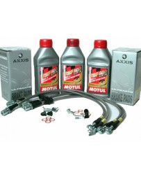 300zx Z32 Stoptech Stage 1 Brake Package, Pads, Lines, Fluid