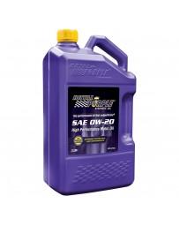 Royal Purple API-Licensed Multi-Grade SAE 0W-20 Synthetic Motor Oil, 5 Quarts