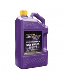Royal Purple API-Licensed Multi-Grade SAE 5W-20 Synthetic Motor Oil, 5 Quarts