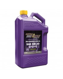 Royal Purple API-Licensed Multi-Grade SAE 5W-30 Synthetic Motor Oil, 5 Quarts x 3
